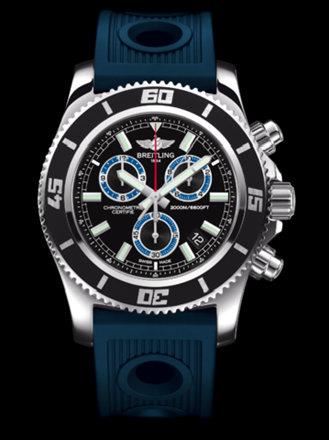 百年灵超级海洋M2000计时腕表系列A73310A8/BB74蓝海洋竞赛胶带