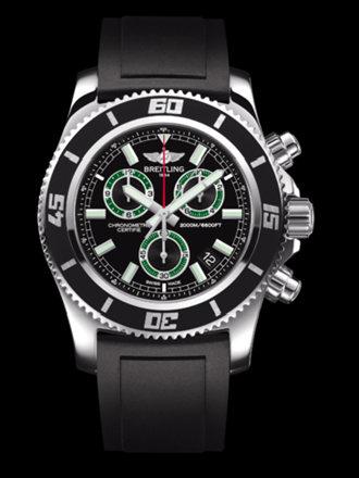 百年灵超级海洋M2000计时腕表系列A73310A8/BB75黑深潜胶带