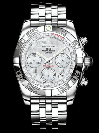 百年灵机械计时41腕表系列AB014012/A746飞行员钢带