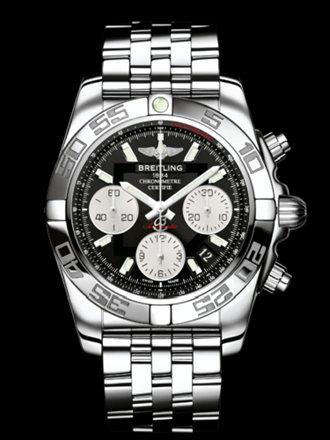 百年灵机械计时41腕表系列AB014012/BA52飞行员钢带