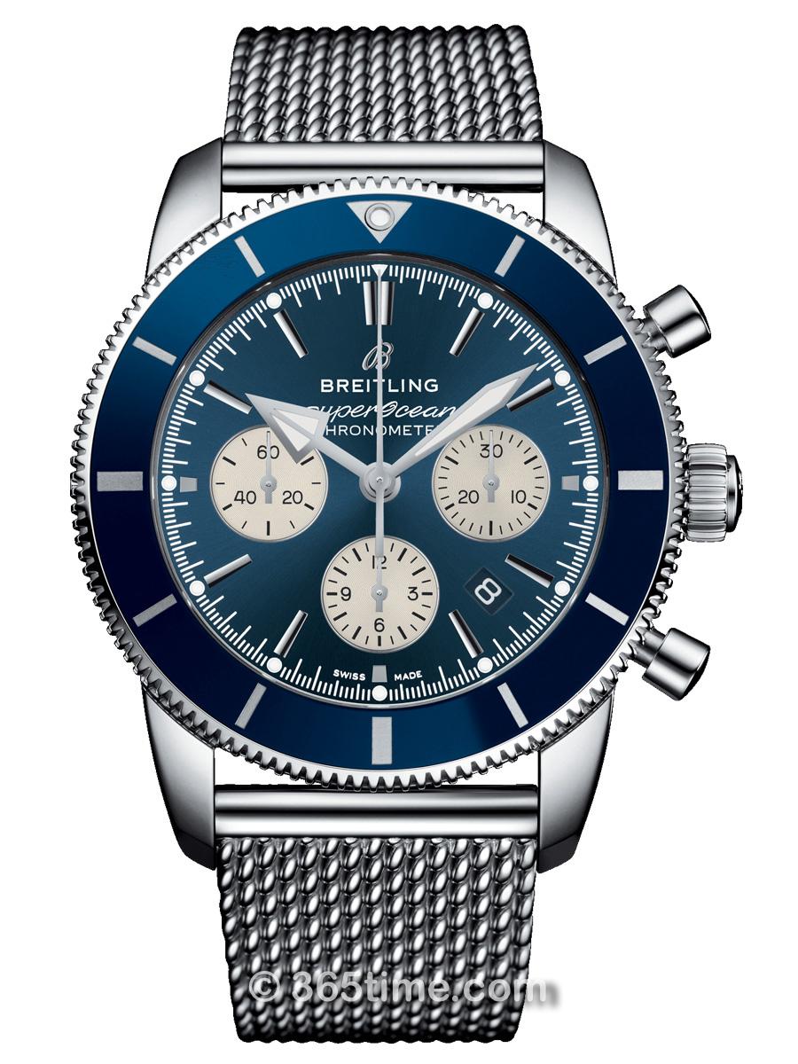 百年灵超级海洋文化二代B01 44 计时腕表AB0162161C1A1