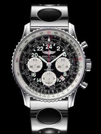 百年灵航空计时宇航员腕表系列AB021012/BB59竞赛钢带