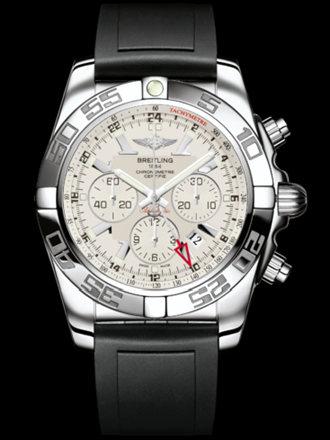 百年灵机械计时GMT腕表系列AB041012/G719黑深潜胶带
