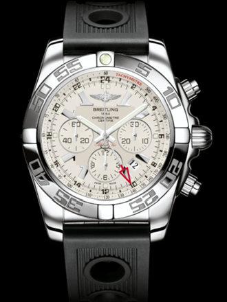 百年灵机械计时GMT腕表系列AB041012/G719黑海洋竞赛胶带