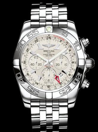 百年灵机械计时GMT腕表系列AB041012/G719飞行员钢带