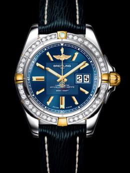 百年灵银河41腕表系列B49350LA/C809蓝SAHARA皮带