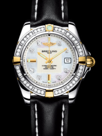 百年灵银河32腕表系列B71356LA/A710黑皮带