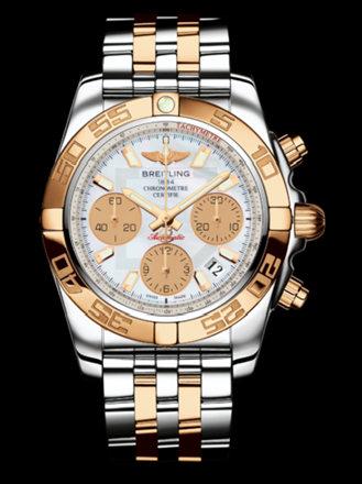 百年灵机械计时41腕表系列CB014012/A722飞行员间金带