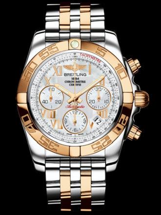 百年灵机械计时41腕表系列CB014012/A748飞行员间金带