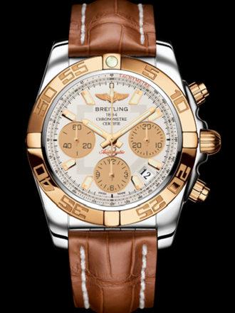 百年灵机械计时41腕表系列CB014012/G713金鳄鱼皮带