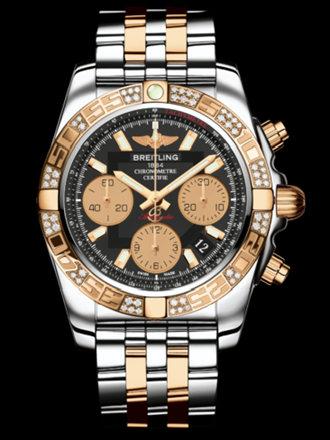 百年灵机械计时41腕表系列CB0140AA/BA53飞行员间金带