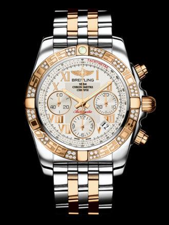 百年灵机械计时41腕表系列CB0140AA/G759飞行员间金带
