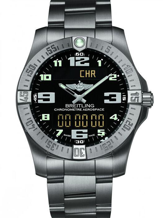 百年灵专业系列E7936310/BC27/152E航天多功能进化计时腕表