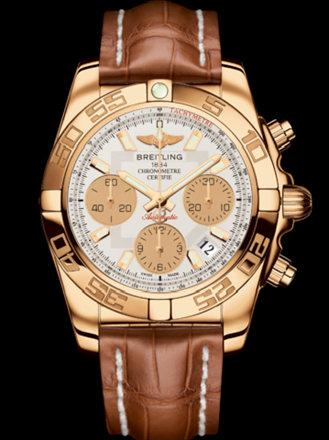 百年灵机械计时41腕表系列HB014012/G713金鳄鱼皮带