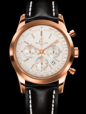 百年灵越洋计时腕表系列RB015212/G738黑皮带