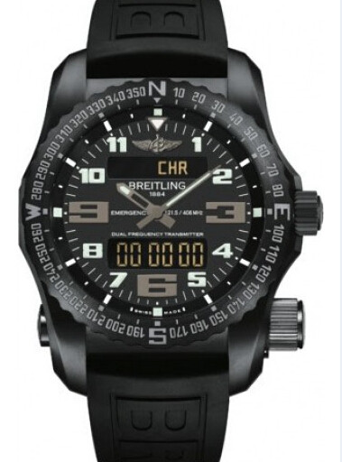 百年灵专业系列V7632522/BC46/156S/V20DSA.4紧急求救腕表