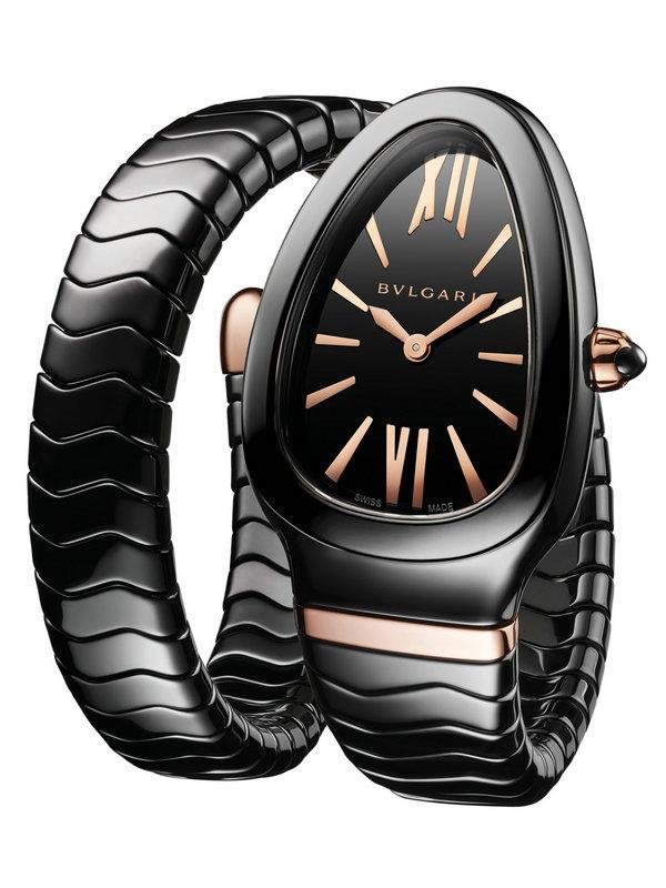 宝格丽SERPENTI SPIGA系列黑陶瓷腕表102734