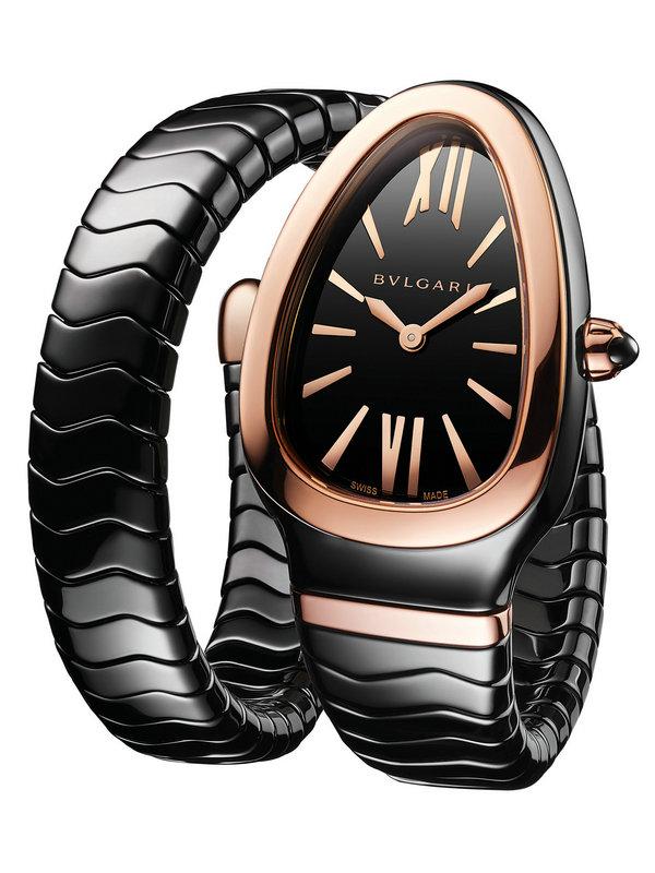 宝格丽SERPENTI SPIGA系列黑陶瓷腕表102735