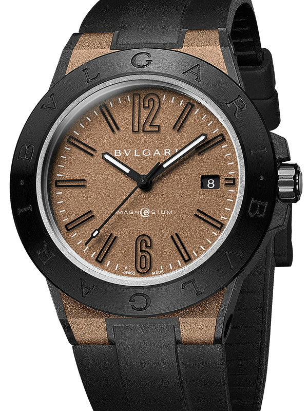 宝格丽Diagono Magnesium系列棕色