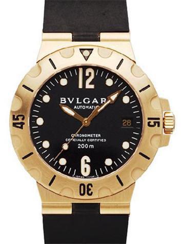 宝格丽BVLGARI系列SD38GVD