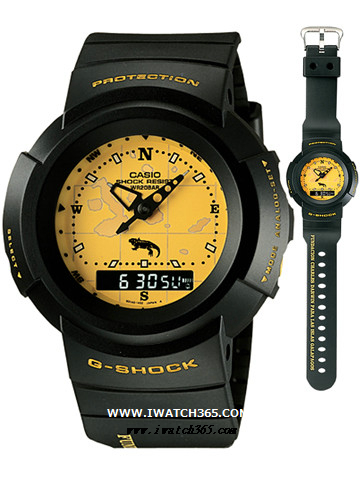 CASIO卡西欧G-SHOCK系列AW-500D-9E1T