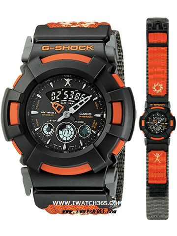 CASIO卡西欧G-SHOCK系列AW-510RX-4AT