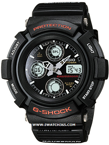 CASIO卡西欧G-SHOCK系列AW-571-1A
