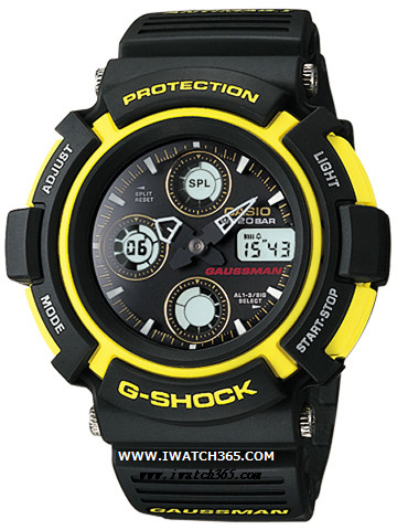 CASIO卡西欧G-SHOCK系列AW-571-9A