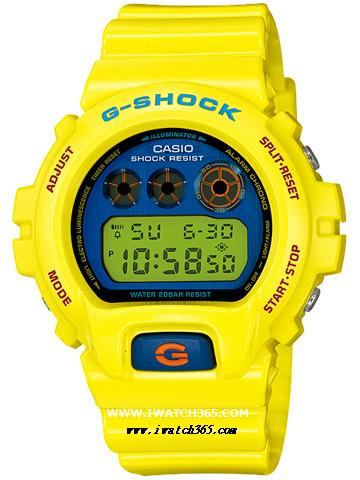 CASIO卡西欧G-SHOCK系列DW-6900PL-9JF