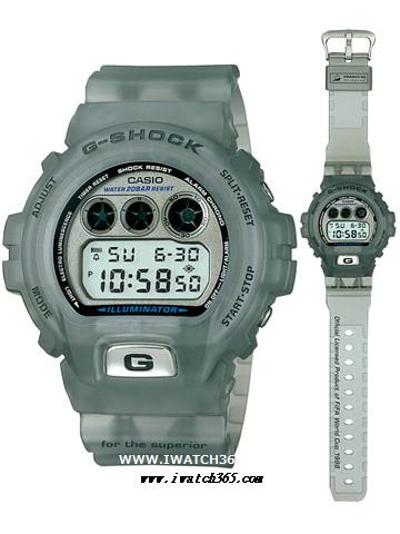 CASIO卡西欧G-SHOCK系列DW-6900WF-8T