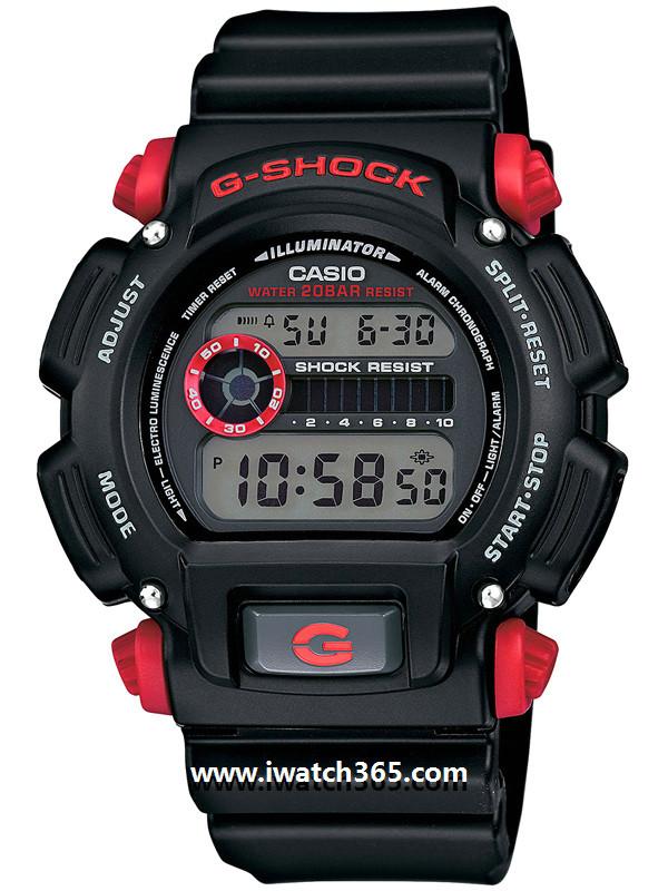CASIO卡西欧G-SHOCK系列DW-9052-1C4