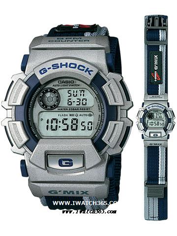CASIO卡西欧G-SHOCK系列DW-9550HV-2T