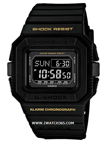 CASIO卡西欧G-SHOCK系列DW-D5500-1B