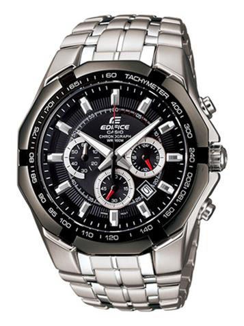 CASIO卡西欧EDIFICE CHRONOGRAPH系列EF-540D-1AV