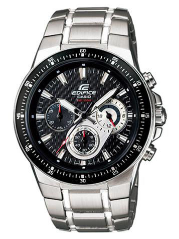 CASIO卡西欧EDIFICE CHRONOGRAPH系列EF-552D-1AV