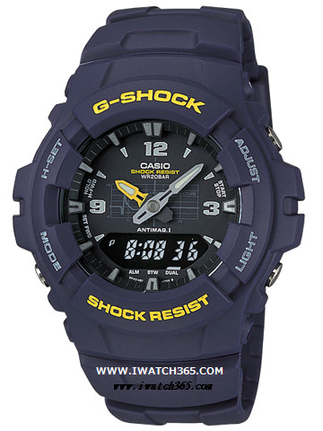 CASIO卡西欧G-SHOCK系列G-100-2BMJF
