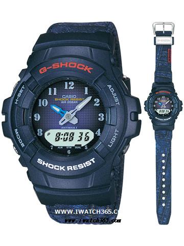 CASIO卡西欧G-SHOCK系列G-100ND-2B2JF