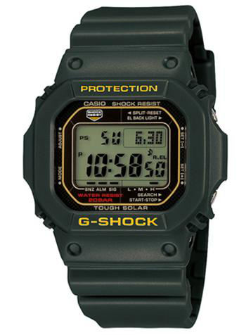 CASIO卡西欧G-SHOCK经典系列G-5600A-3D