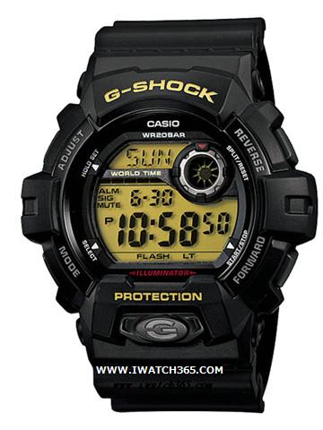 CASIO卡西欧G-SHOCK系列G-8900-1JF