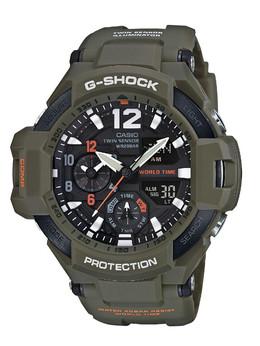 卡西欧G-SHOCK全新系列大展强悍军事风格男士腕表GA-1100KH-3A