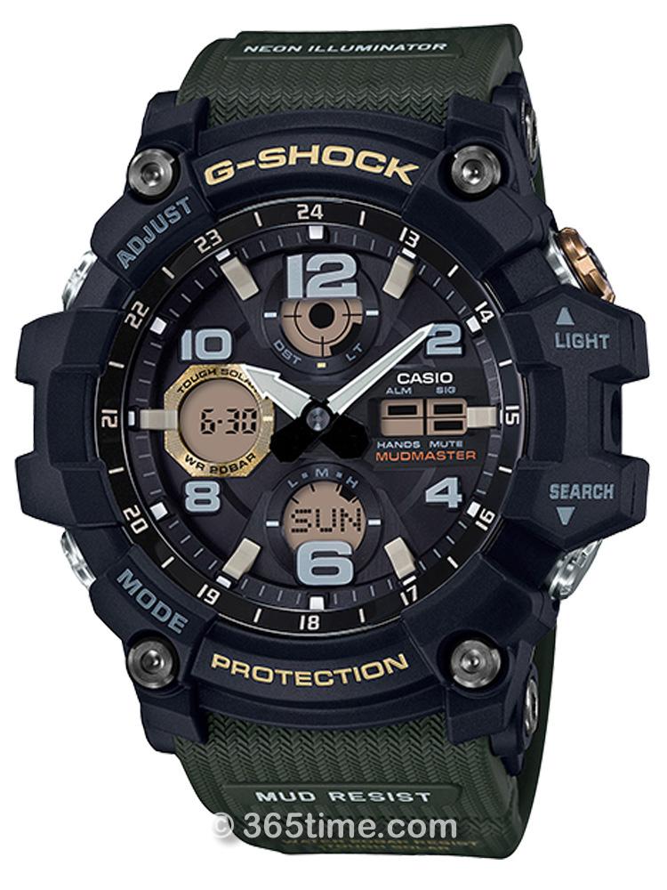 卡西欧G-SHOCK MUDMASTER GSG-100系列GSG-100-1A3
