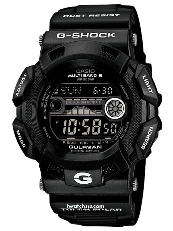 CASIO卡西欧G-SHOCK系列GW-9110BW-1JF