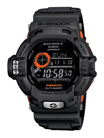 CASIO卡西欧G-SHOCKMASTER OF G系列GW-9200GYJ-1