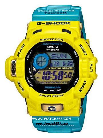 CASIO卡西欧G-SHOCK系列GW-9201KJ-9JR