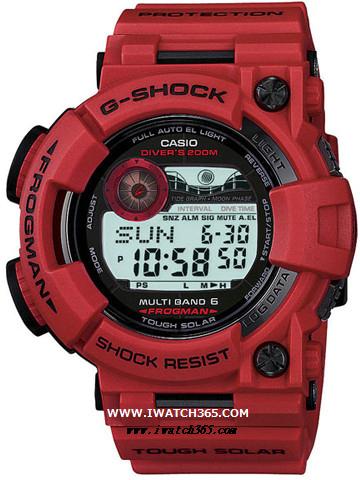 CASIO卡西欧G-SHOCK系列GWF-1000RD-4JF