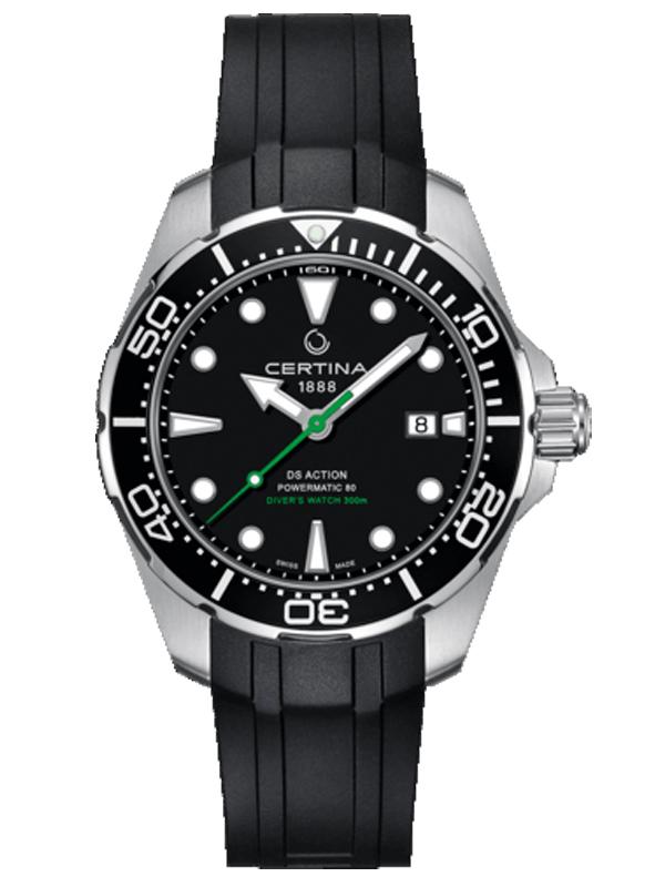 雪铁纳动能系列潜水腕表C032.407.17.051.00