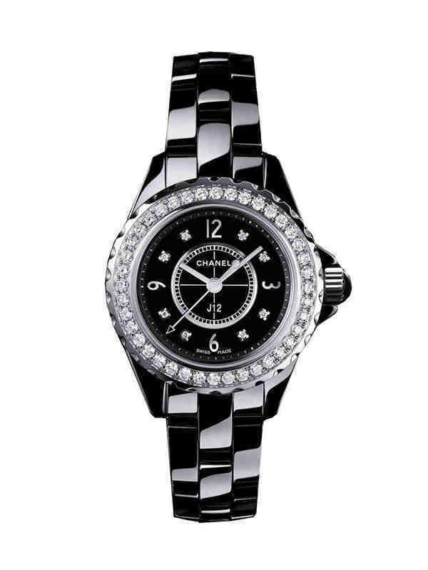 香奈儿J12系列H2571陶瓷镶钻腕表
