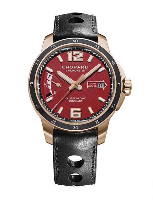 萧邦经典赛车系列161296-5002玫瑰金款限量版男士腕表