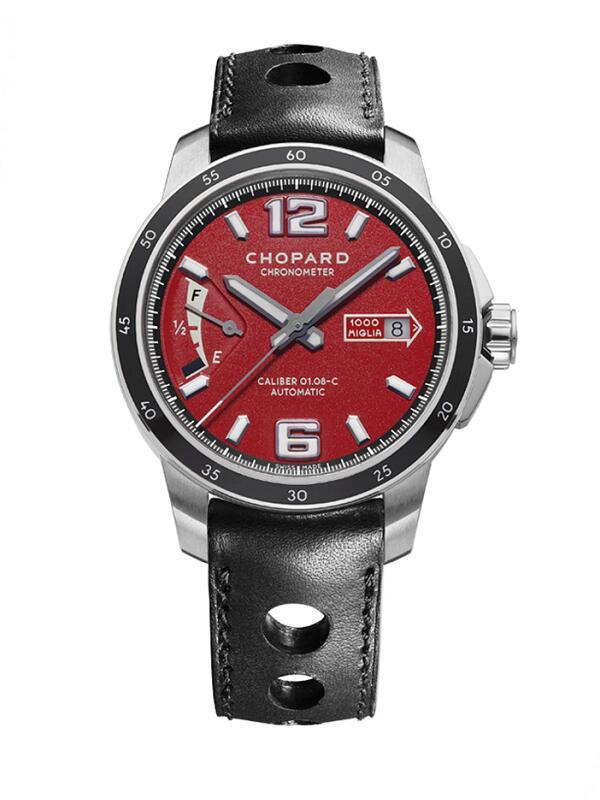 萧邦经典赛车系列168566-3002精钢款限量版男士腕表