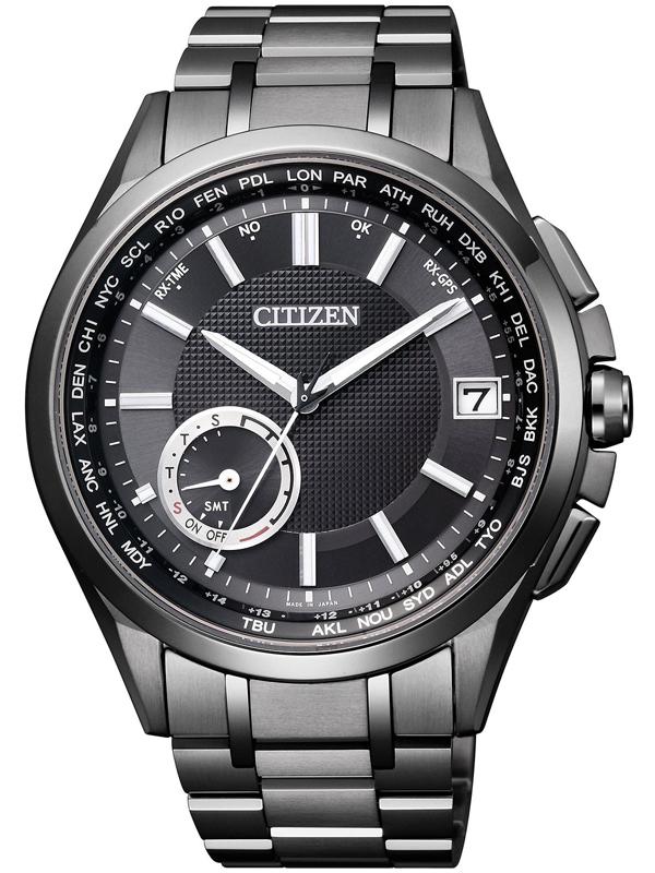 西铁城光动能系列卫星对时腕表CC3015-57E